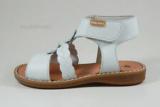 Pablosky Girls 081200 White Leather Sandals UK 5 EU 22 US 6  RRP £38.00