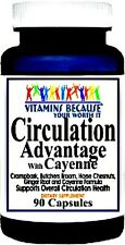 CIRCULATION ADVANTAGE CAYENNE SUPPORTS BLOOD FLOW HEALTH SUPPLEMENT 90 CAPSULES