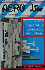 Plus model aero line 4020 1/48 russian missile R-23T AA-7B apex (2 pcs.)