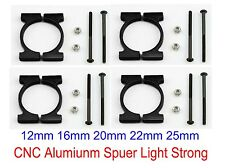 4x CNC Aluminum Superlight 20mm Arm Tube Pipe Clamp F Quadcopter Multicopter DIY