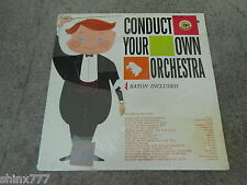 CONDUCT YOUR OWN ORCHESTRA-LP-VINYL-FACTORY SEALED-NEW!
