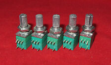 5 x 10K OHM Linear Taper Pot, with ON-OFF Turn Switch B10K Potentiometer Mini BJ