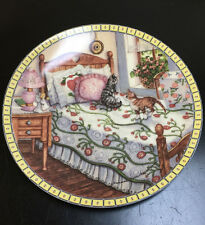 "Knowles ""A Sunny Spot"" Collector Plate Cozy Country Corners Series 1991"