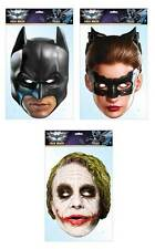 Batman Offiziell 3er Set DC Comics 2D Karten Party Gesicht Maske Pack catwoman