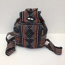 RASTA Hippie Baja Ethnic Beach Small Backpack Kids Adult Unisex Made in Mexico 7