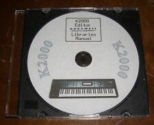 Kurzweil K2000/K2000R   -  CD mit 3000 Voice