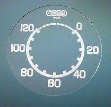 Zifferblatt aus Glas für Tachometer ISGUS für DKW350 NZ Wehrmacht Version