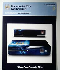 Xbox One Console Skin , Official Manchester City FC Skin . New .
