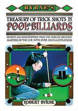 Byrne's Treasury of Trick Shots in Pool and Billiards, Byrne, Robert, Good Book