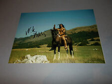Nik Xhelilaj  Winnetou signed signiert  Autogramm auf 20x28 Foto in person