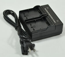Dual Double Channel Battery Charger fr JVC BN-VG138 GZ-E505B GZ-E200  GZ-E3GZ-E2