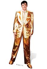 Elvis Presley The King Gold Lame Suit Cardboard Cutout-182cm Tall-At your party