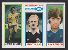 Topps - Footballers (Blue Back) 1981 - # 31 62 182 Man City Nottm F Leeds