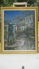 ORIGINAL OIL PAINTING OF THE FRENCH QUARTER/VIEUX CARRE'  NEW ORLEANS, LA