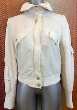 Zara Sport White Jacket UK Size 10