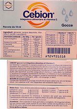 Cebion Gocce 10ml integratore di Vitamina C aumenta difese sistema immunitario