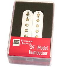 11101-05-W4c Seymour Duncan White '59 4-Conductor Humbucker Guitar Pickup  SH-1b
