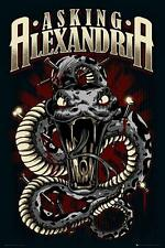 Asking Alexandria : Snake - Maxi Poster 61cm x 91.5cm (new & sealed)