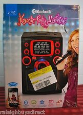 iLive Blue IJMB484B CD+G Karaoke Machine System w/ Bluetooth w/ Microphone