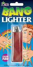 EXPLODING BANG FAKE LIGHTER FUNNY JOKE TRICK BOYS TOY CHILDRENS XMAS GIFT