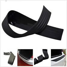 "1 pcs 35""Black Car Rear Bumper Rubber PAD Trim Guard Cover Sill Plate Protector"