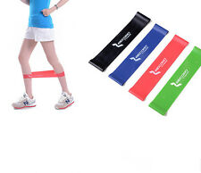Blue Resistance Loop Band Exercise Yoga Bands Rubber Fitness Training Strength