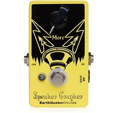 EarthQuaker Devices Speaker Cranker Overdrive Guitar or Bass Effect Pedal - New!