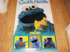 SESAME STREET COOKIE MONSTER COLLAGE POSTER 22X34 NEW FAST FREE SHIPPING