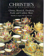 CHRISTIE'S Chintz Winton Beswick Doulton Poole Carlton Ware Guinness Catalog 97