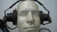 WWII Era Hand Microphone No. 7  Headset Used Old Military Gear Untested