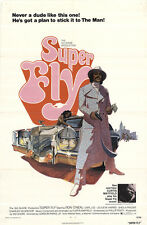 Super Fly 1972 Original Movie Poster Action Crime Drama