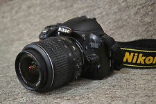 Nikon D3100 14.2 MP Digital SLR Camera - Black(w/ AF-S DX VR 18-55mm Lens #7389