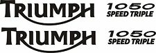 Triumph Speed Triple Vinyl stickers x 2