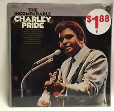 SEALED Mint 1972 The Incomparable Charley Pride Pickwick Canada LP Record Album