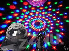 3W Mini Projecteur Boule Cristal Lampe DJ Jeu de lumière RGB LED éclairage Disco