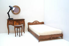 set furniture for Dolls 12 Inch 1/6 FR Barbie Console table & chair & bed & lamp