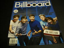 ONE DIRECTION Top New Artist... 2012 BB cover PROMO DISPLAY AD