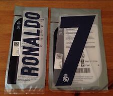 Kids 2016-17 RONALDO#7 La Liga Home Shirt OFFICIAL Sporting iD Name Number Set