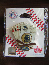2006 World Series Detroit Tigers Wild Card Pin