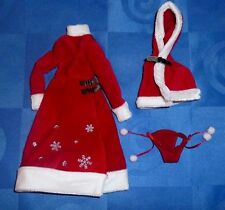 Momoko Holy Night - partial outfit only - great condition - Santa - Christmas.