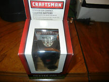 CRAFTSMAN NEXTEC 12 VOLT LITHIUM ION LIGHTED BATTERY NO.33170