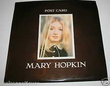 "1969 Mary Hopkin Post Card Vintage 12"" Vinyl LP Apple Records Paul McCartney"