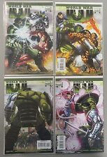 WORLD WAR HULK #1 2 3 4 John Romita Jr Variant Art Set Run Lot - Marvel Comics