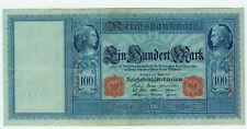 Banknote Deutsches Reich 100 Mark 1910 Ro. 43b