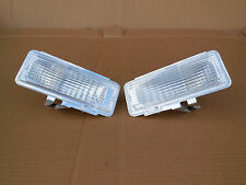 Chevy S10 pickup bumper light euro turn signal park lamp clear len 94 95 96 97
