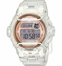 Casio Baby-G Shock BG169G-7B Brand New Womens Clear Rose Whale Digital Watch