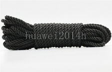 1/5/20/100M Twist Nylon Rope String Cord Twine Rope Bracelet Synthetic Silk 5mm
