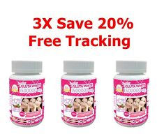 3X White Gluta Supreme 1500000 Mg V Shape Face Whitening Anti Aging 30 Softgels