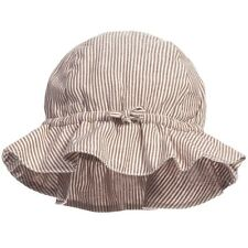 CARAMEL BABY AND CHILD STRIPED ATLANTIS SUN HAT SMALL