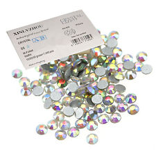 3D Nail Art Tips Gem 1440pcs 2.5mm Crystal Glitter Rhinestone DIY Decoration US